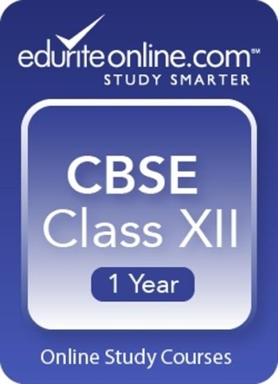 Edurite CBSE Class 12 : 1 Year Online Course(Voucher)