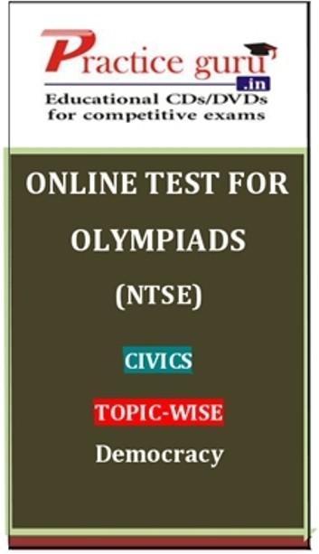 Practice Guru Olympiads (NTSE) Civics Topic-wise - Democracy Online Test(Voucher)