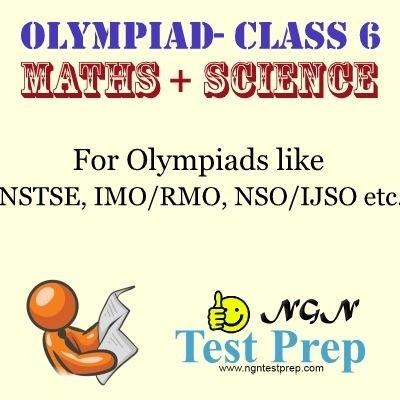 NGN Test Prep Olympiad - Maths + Science (Class 6) Online Test(Voucher)