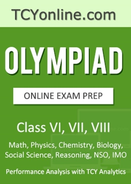 TCYonline Olympiad Online Exam Prep - Performance Analysis with TCY Analytics (Class - 6, 7, 8) (5 Months Pack) Online Test(Voucher)
