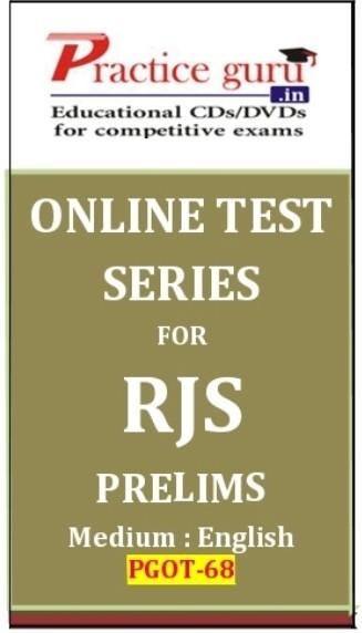 Practice Guru RJS Prelims Online Test(Voucher)