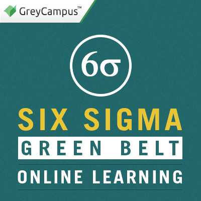 GreyCampus Six Sigma Green Belt - Online Learning Certification Course(Voucher)