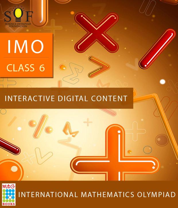 MTG IMO Class 6 - Interactive Digital Content Online Test(Voucher)
