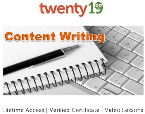 Twenty19 Content Writing Certification Course(Voucher)