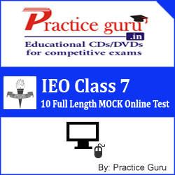 Practice Guru IEO Class 7 - 10 Full Length MOCK Online Test(Voucher)