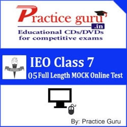Practice Guru IEO Class 7 - 05 Full Length MOCK Online Test(Voucher)
