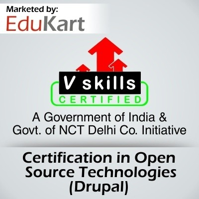 Vskills Certification in Open Source Technologies - Drupal Certification Course(Voucher)