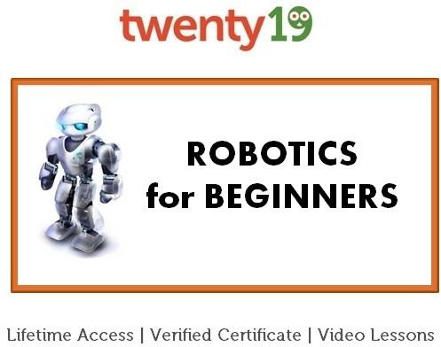 Twenty19 Robotics for Beginners Certification Course(Voucher)