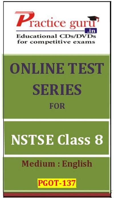 Practice Guru Series for NSTSE Class 8 Online Test(Voucher)