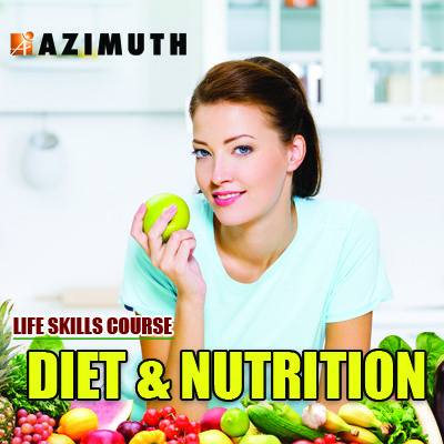 Azimuth Life Skills Course - Diet & Nutrition Online Course(Voucher)