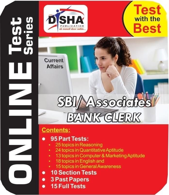 Disha Publication Dishas SBI / Associates Clerk Online Test(User ID-Password)