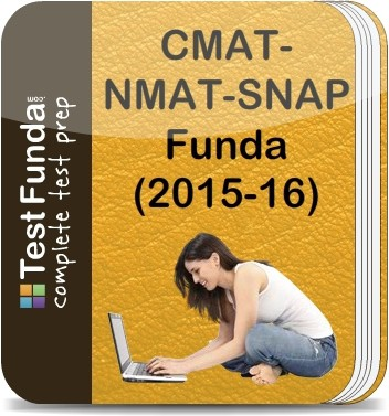 Test Funda CMAT - NMAT - SNAP Funda (2015 - 16) Online Test(Voucher)