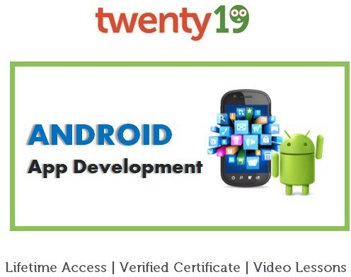 Twenty19 Android App Development for Beginners Certification Course(Voucher)