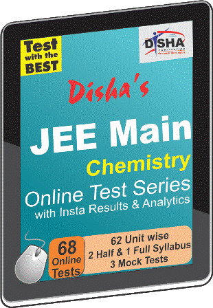 Disha Publication JEE Main - Chemistry with Insta Results & Analytics Online Test(Voucher)