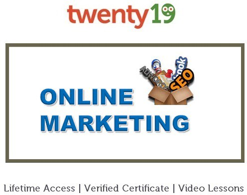 Twenty19 Online Marketing Certification Course(Voucher)