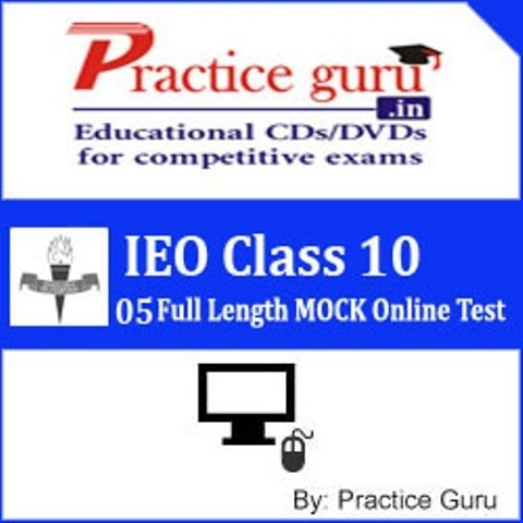 Practice Guru IEO Class 10 - 05 Full Length MOCK Online Test(Voucher)