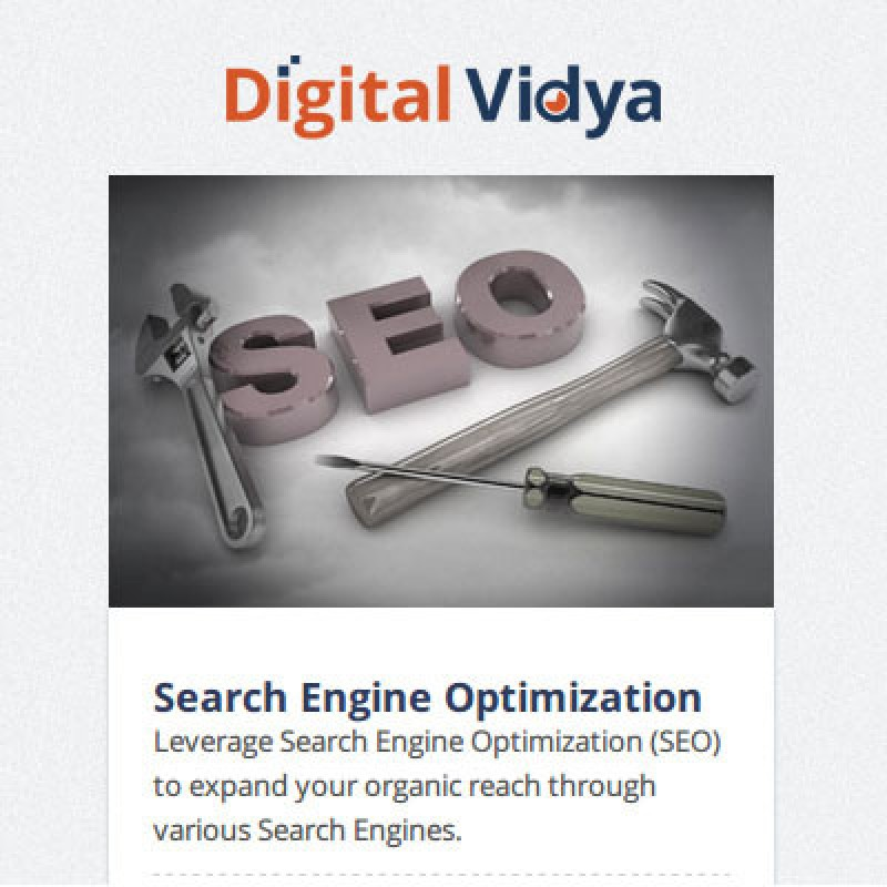 Digital Vidya Certified Search Engine Optimization Master (CSEOM) Certification Course(Voucher)