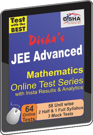 Disha Publication JEE Advanced - Mathematics with Insta Results & Analytics Online Test(Voucher)