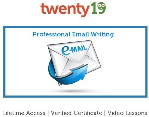 Twenty19 Professional Email Writing Certification Course(Voucher)