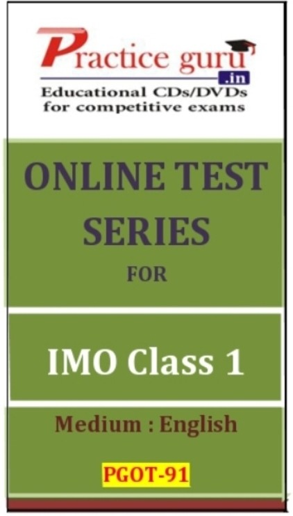 Practice Guru Series for IMO Class 1 Online Test(Voucher)