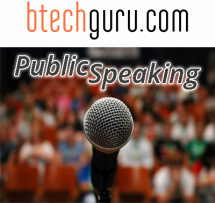 Btechguru Public Speaking Online Course(Voucher)