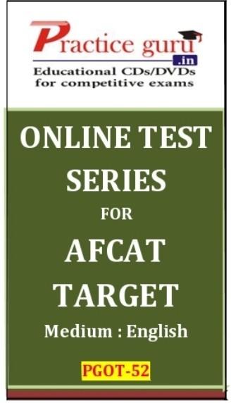 Practice Guru AFCAT Target Online Test(Voucher)
