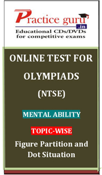 Practice Guru Olympiads (NTSE) Mental Ability Topic-wise Figure Partition and Dot Situation Online Test(Voucher)