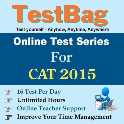 TestBag CAT 2015 Online Test(Voucher)