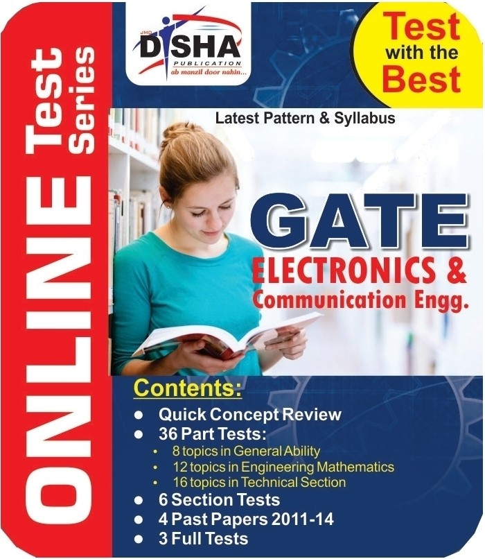 Disha Publication Dishas GATE Electronics & Communication Engineering Online Test(User ID-Password)