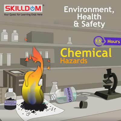SKILLDOM Environment, Health & Safety - Chemical Hazards Certification Course(User ID-Password)