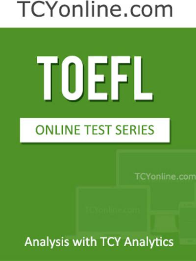 TCYonline TOEFL Analysis with TCY Analytics (6 Months Pack) Online Test(Voucher)