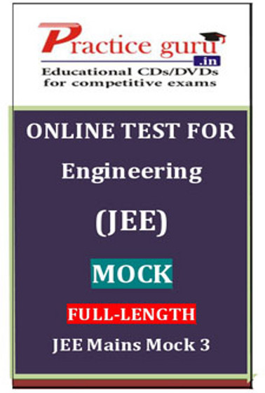 Practice Guru Engineering (JEE) Mock Full - Length JEE Mains Mock 3 Online Test(Voucher)