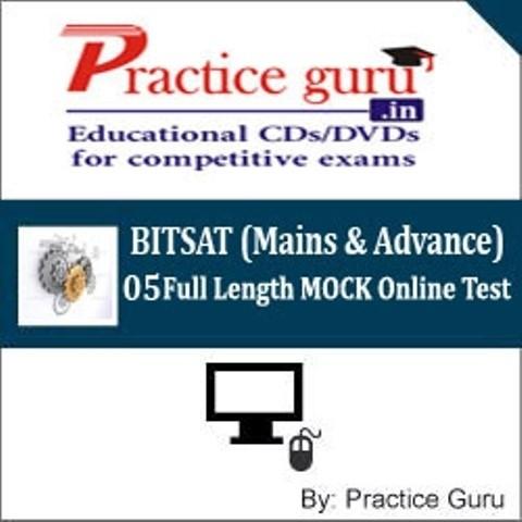 Practice Guru BITSAT (Mains & Advance) - 05 Full Length MOCK Online Test(Voucher)