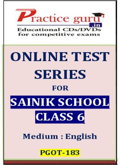 Practice Guru Series for Sainik School Class 6 Online Test(Voucher)