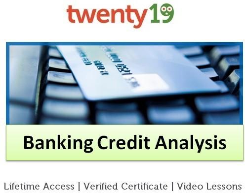 Twenty19 Banking Credit Analysis Certification Course(Voucher)
