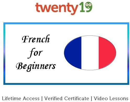 Twenty19 French for Beginners Certification Course(Voucher)
