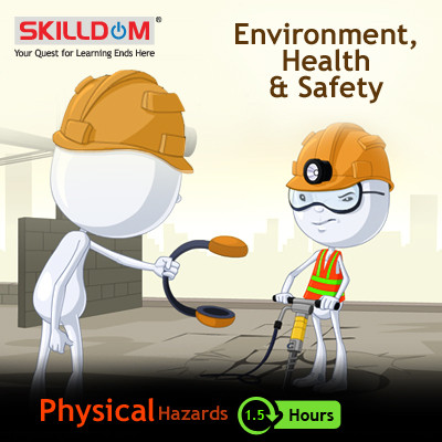 SKILLDOM Environment, Health & Safety - Physical Hazards Certification Course(User ID-Password)