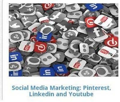 EasySkillz Social Media Marketing: Pinterest, Linkedin and Youtube Online Course(Voucher)