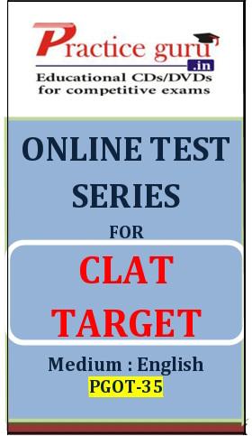 Practice Guru CLAT Target Online Test(Voucher)