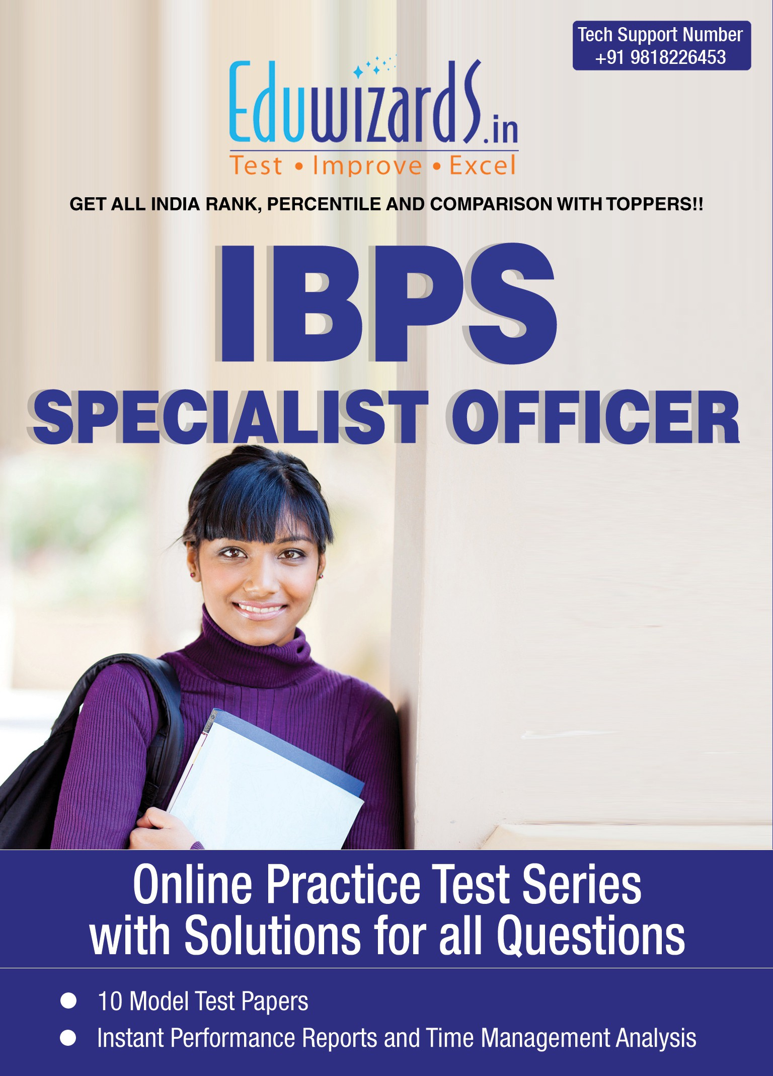 Eduwizards IBPS Specialist Officer Online Test Series Online Test(Voucher)