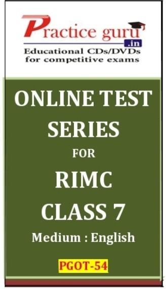 Practice Guru RIMC Class 7 Online Test(Voucher)