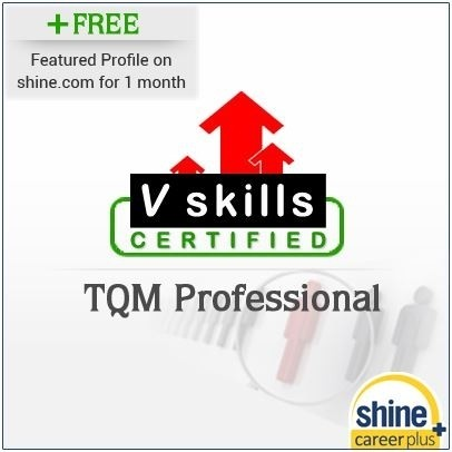 Careerplus V Skills Certified TQM Professional Certification Course(Voucher)