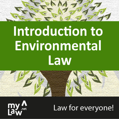 Rainmaker Introduction to Environmental Law - Law for Everyone! Certification Course(Voucher)