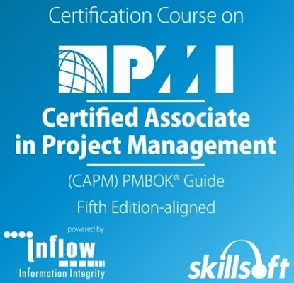 Skill Soft Certified Associate in Project Management (CAPM) - PMBOK Guide - Fifth Edition - Aligned Certification Course(Voucher)