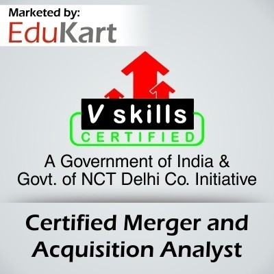 Vskills Certified Merger and Acquisition Analyst Certification Course(Voucher)