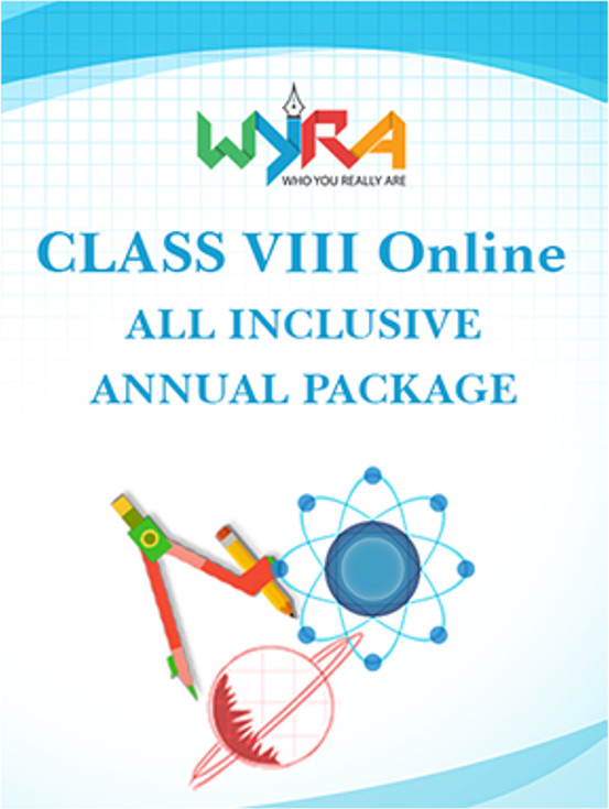 Wyra Class 8 - Online All Inclusive Annual Package School Course Material(Voucher)