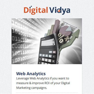 Digital Vidya Web Analytics Certification Course(Voucher)