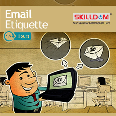 SKILLDOM Email Etiquette Certification Course(User ID-Password)