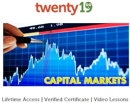 Twenty19 Introduction to Capital Markets Certification Course(Voucher)