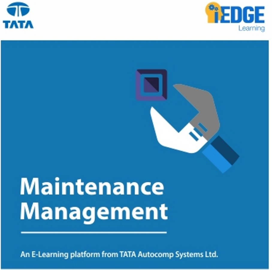 iEDGE Learning Maintenance Management Certification Course(Voucher)
